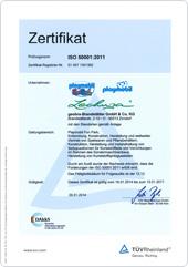 Zertifikat Energiemanagementsystem
