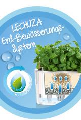 Das LECHUZA Erd-Bewässerungs-System